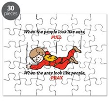 Skydiver Saying Puzzle