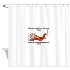 Skydiver Saying Shower Curtain