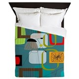 Mid century Luxe Full/Queen Duvet Cover