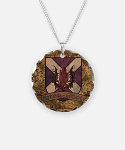 antique Ulster Scots shield Necklace