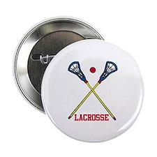"""Lacrosse 2.25"""" Button"""