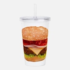 Unique Food Acrylic Double-wall Tumbler