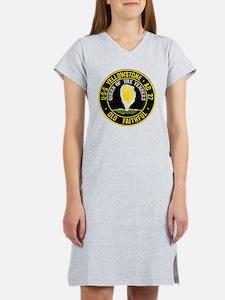 uss yellowstone ad 27 patch Women's Nightshirt