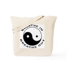 Ying Yang Breath Tote Bag