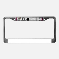 Romantic Landscape License Plate Frame