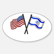Cute Israel Sticker (Oval)