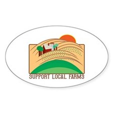 Support Local Farms Decal