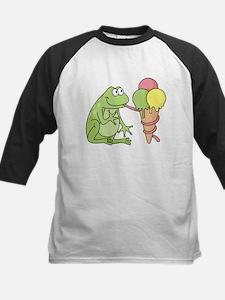 Frog with Icecream Baseball Jersey