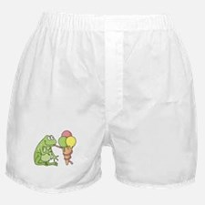 Cute Green ice Boxer Shorts