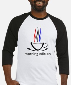me coffee cup morning edition Baseball Jersey