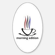 me coffee cup morning edition Decal