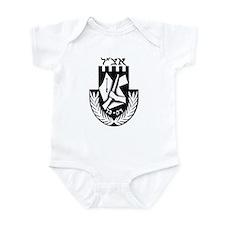 The Irgun (Etzel) Logo Infant Bodysuit