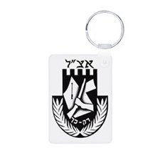The Irgun (etzel) Logo Aluminum Photo Keychains