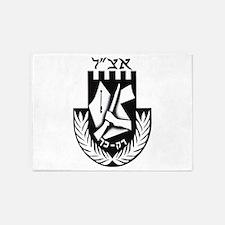 The Irgun (Etzel) Logo 5'x7'Area Rug