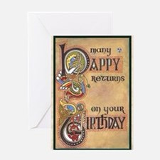 Celtic Birthday  Greeting Card