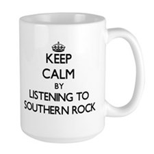 Keep calm by listening to SOUTHERN ROCK Mugs