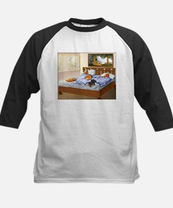 Sleeping Dachshunds Tee