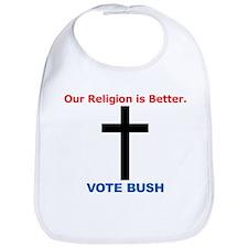 Anti-Bush Bib