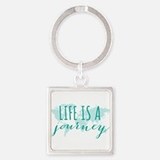 Life is a journey Keychains