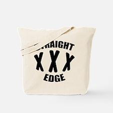 Straight edge Tote Bag