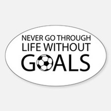 Life goals soccer Decal