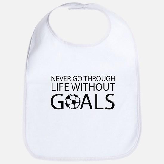 Life goals soccer Bib