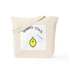 Quaker Chick Tote Bag