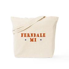 Ferndale MI Tote Bag