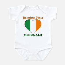McDonald, Valentine's Day Infant Bodysuit