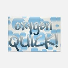 Oxygen Quick Rectangle Magnet