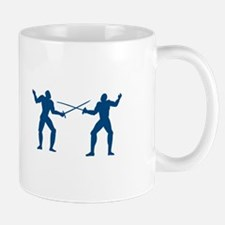 Men Fencing Mugs
