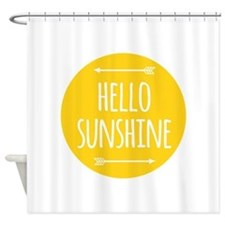 Unique Good morning Shower Curtain