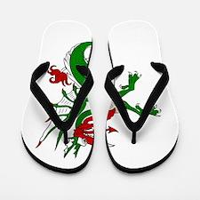 Sea Dragon Flip Flops
