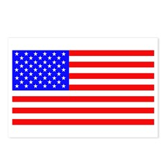 US Flag Postcards (8)