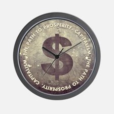The Path To Prosperity Wall Clock
