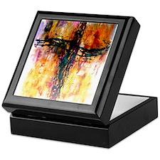 Funny Impressionist Keepsake Box