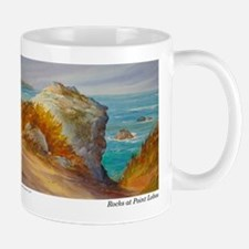 Rocks at Point Lobos Mug