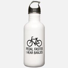 Pedal faster I hear banjos Water Bottle