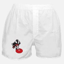 Pirate frisbee Boxer Shorts