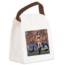 Wicked Rider Canvas Lunch Bag
