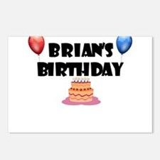 Brian's Birthday Postcards (Package of 8)