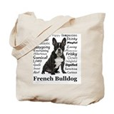 French bulldogs Canvas Bags