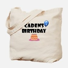 Caden's Birthday Tote Bag