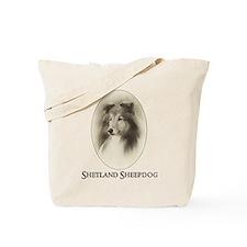 Vintage Sheltie Tote Bag