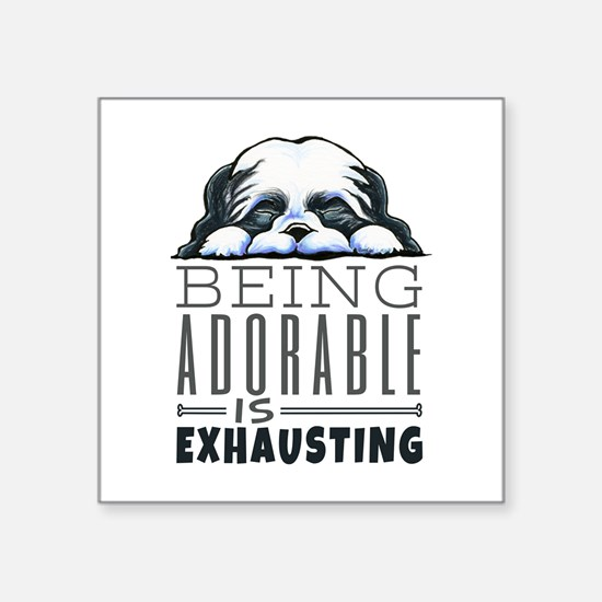 Adorable Shih Tzu Sticker