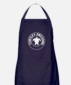 turtley awesome Apron (dark)