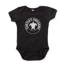 turtley awesome Baby Bodysuit