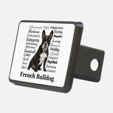 Frenchie Traits Hitch Cover