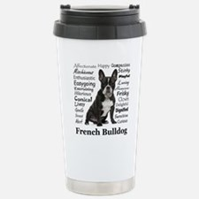Frenchie Traits Travel Mug