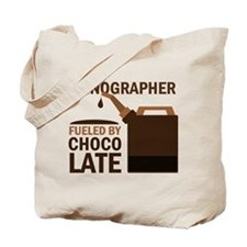 Sonographer Fueled by chocolate Tote Bag